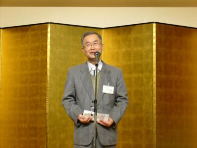 尾崎先生挨拶